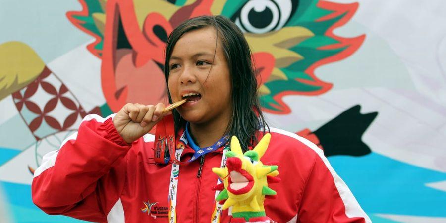 ASEAN Schools Games 2019 - Adelia Raih Hat-Trick Emas Cabor Renang
