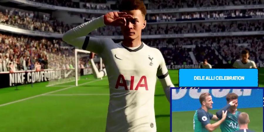 Dele Alli 'Eye Challenge' Muncul di Selebrasi Pemain Terbaru FIFA 20