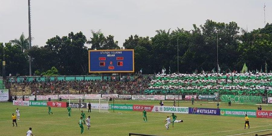 Bukan Water Break, Ada Azan Break di Laga PSMS vs Blitar United
