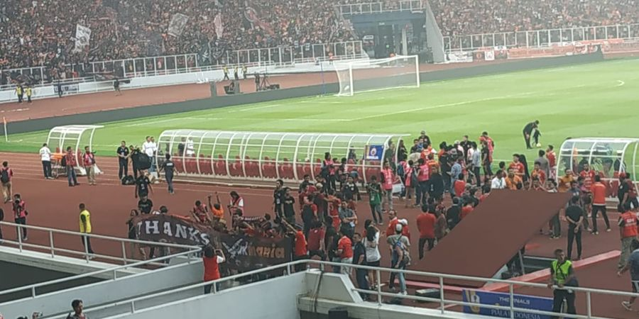 Final Piala Indonesia - Suporter PSM Ucapkan Terima Kasih ke The Jak Mania