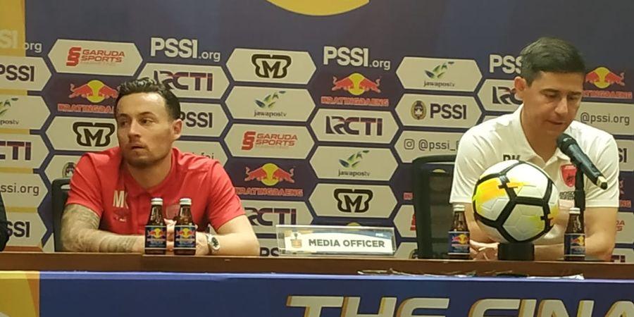 Pelatih PSM Terima Kekalahan dari Persija di Final Leg Pertama Piala Indonesia
