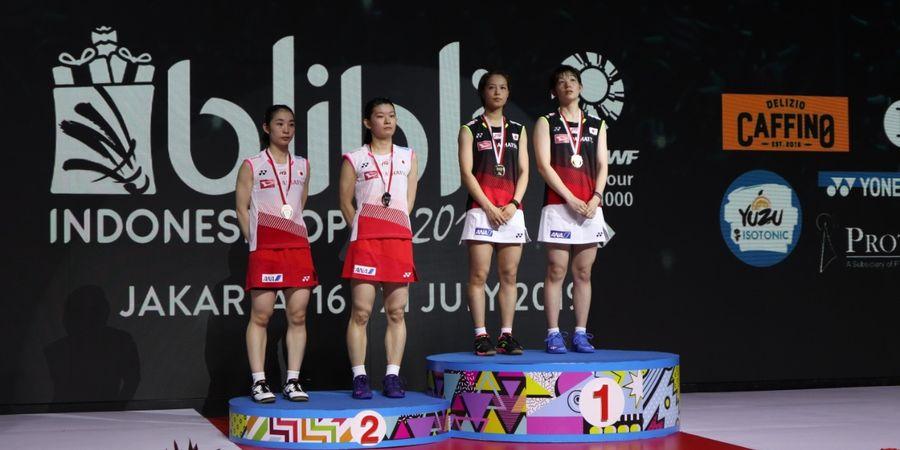 Indonesia Open 2019 - Fukushima/Sayaka Hirota Sangat Ingin Juara demi Pertama Kali Tembus Olimpiade