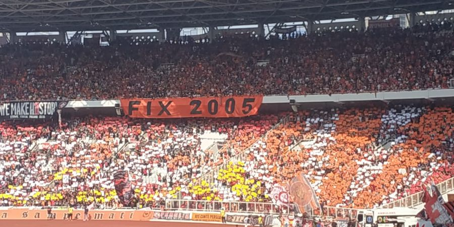 Piala Indonesia - The Jakmania Ingin Persija Hapus Memori Final 2005