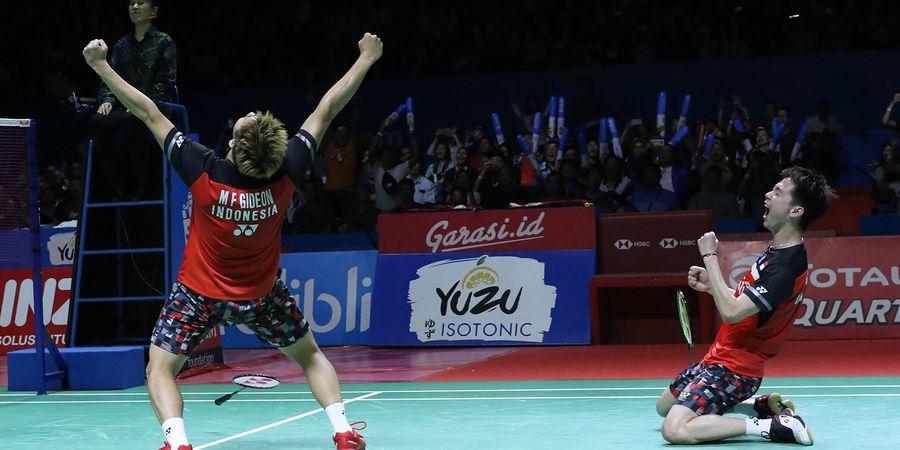 2 Ganda Putra Indonesia Nilai Kans ke Olimpiade Tokyo 2020 Imbang