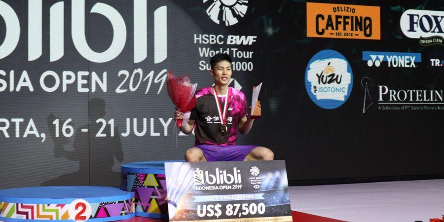 Juara di Thailand, Chou Tien Chen Salip Jonatan Christie pada 'Race to Tokyo'