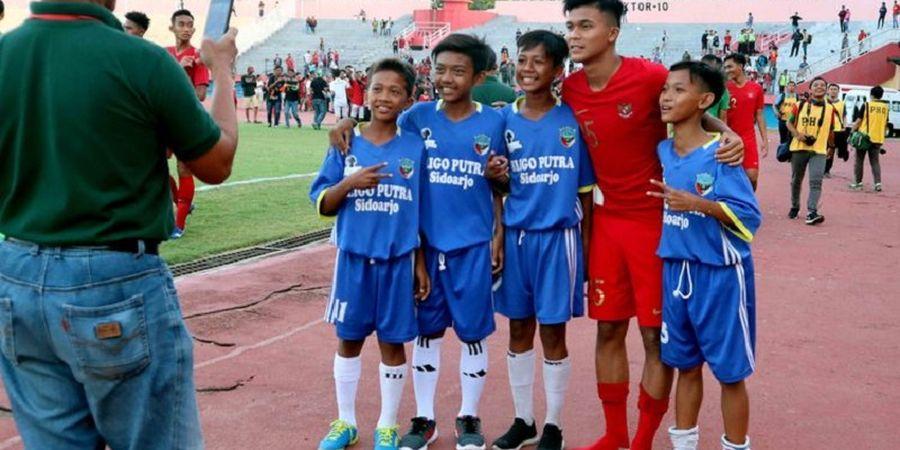 Pasca Laga Timnas U-19 Indonesia Vs Persekabpas, Ini Cara Zico Dekati Fan