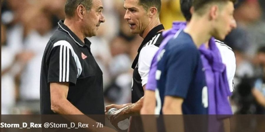 Di Balik Alasan Ronaldo Tak Memakai Gold Badge Liga Italia