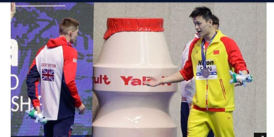 Dituduh Tukang Doping, Perenang Jagoan China Dicuekin Atlet Inggris