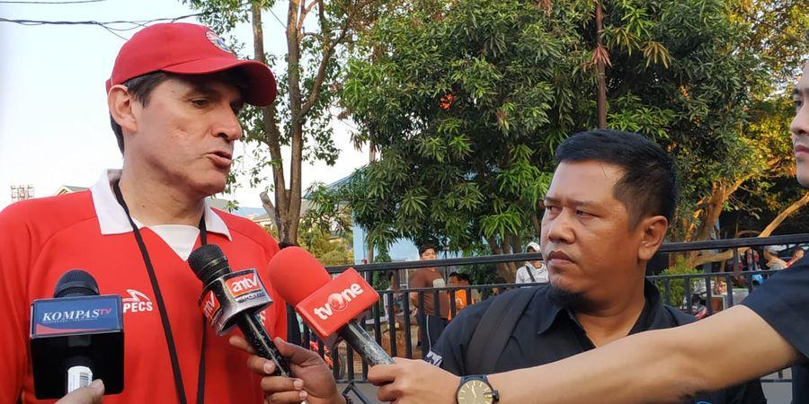 Julio Banuelos Tatap Laga Persija Kontra Persipura dengan Optimisme Tinggi