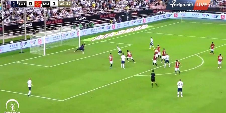 VIDEO - Gara-gara Luke Shaw, Manchester United Kebobolan Gol Konyol dari Spurs