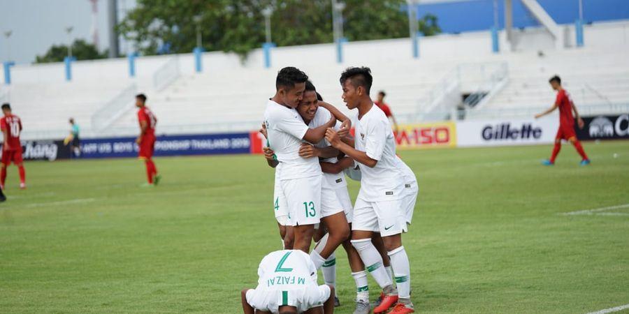 Timnas U-15 Indonesia Raih Kemenangan Kedua, Singapura Jadi Korban