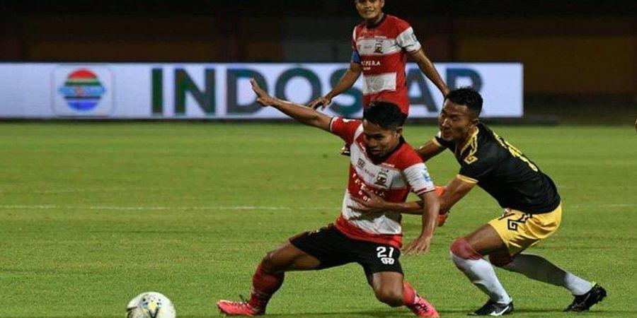 Madura United Pesta Lima Gol ke Gawang Perseru Badak Lampung FC