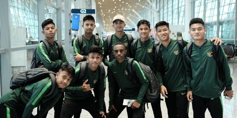 Jadwal Piala AFF U-15 2019 - Sore Ini Timnas Indonesia Bertemu Singapura Disiarkan SCTV