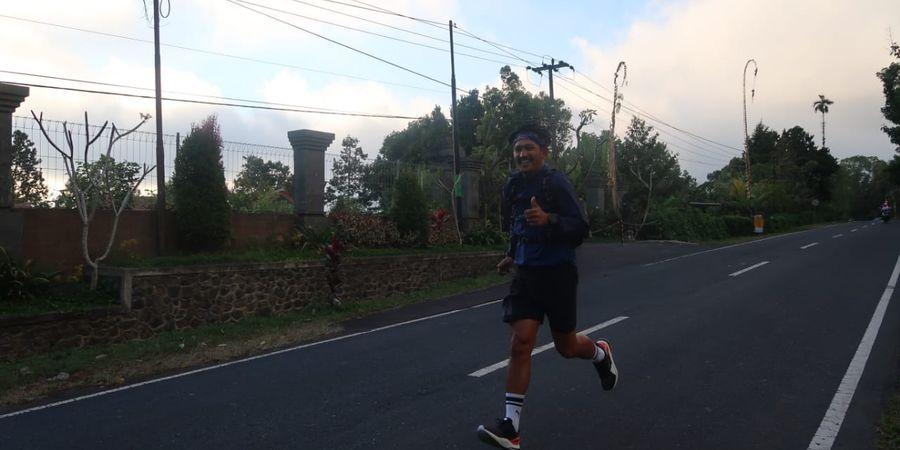 Ibnu Jamil Ambil Bagian dalam Relay Marathon Run To Care 2019