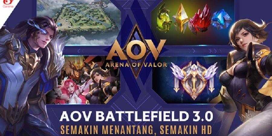 Gunakan Grafis Ultra HD, AOV Battlefield 3.0 Hadir pada Update Bulan Juli