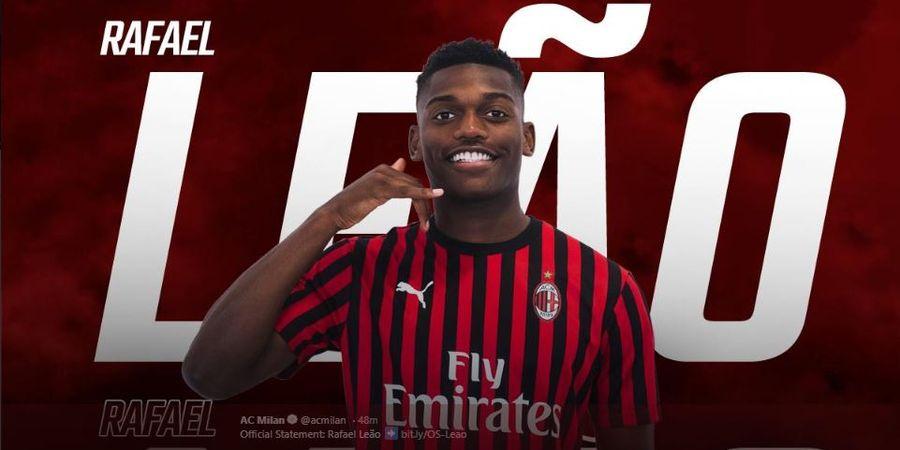 Susunan Pemain AC Milan Vs Lecce - Pelatih Baru Andalkan Rafael Leao