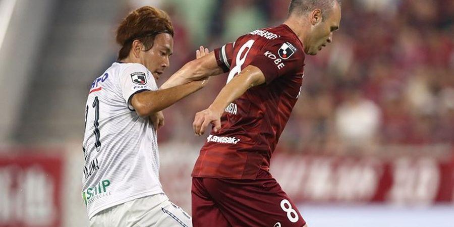 Cetak Gol, Andres Iniesta Bangkitkan Tim Jepang dari Ancaman Kekalahan