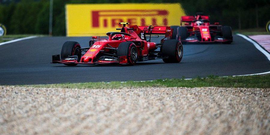 GP Hungaria 2019 - Alami Kecelakaan, Charles Leclerc Akui Salah