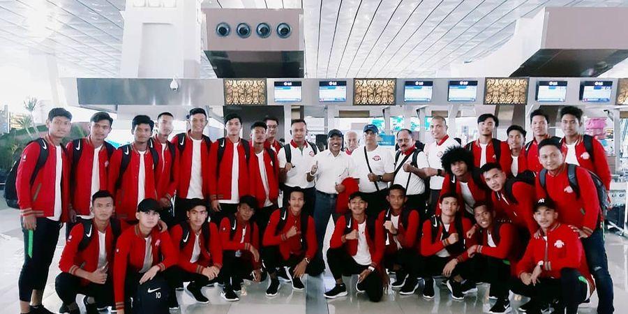 Jadwal Siaran Langsung SCTV Timnas U-18 Indonesia Vs Filipina di Piala AFF U-18 2019, Besok Sore!