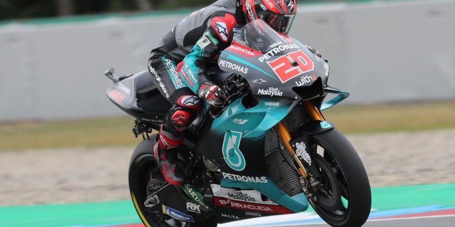Hasil FP3 MotoGP Inggris 2019 - Lagi, Fabio Quartararo Pecahkan Rekor di Silverstone
