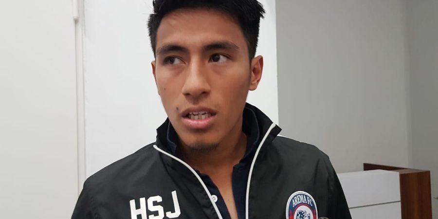 Janji Gelandang Arema Usai Ditahan Imbang Borneo FC di Kandang