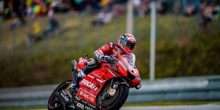 MotoGP Republik Ceska 2019 - Andrea Dovizioso Akui Keberanian Marquez