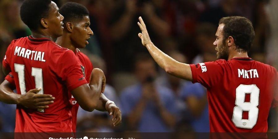 Babak I ICC 2019 - Manchester United Ditahan Imbang 1-1 AC Milan