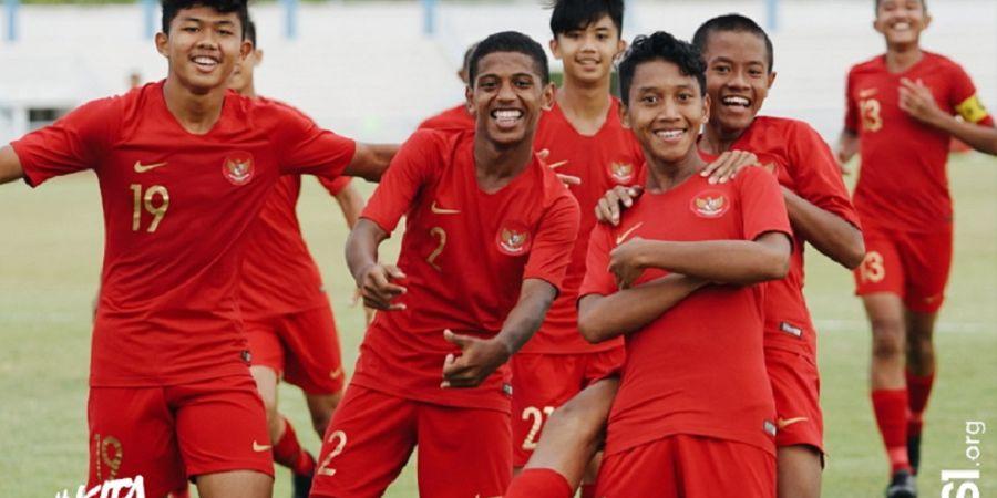 Link Streaming Timnas U-15 Indonesia Vs Thailand di Semifinal AFF U-15