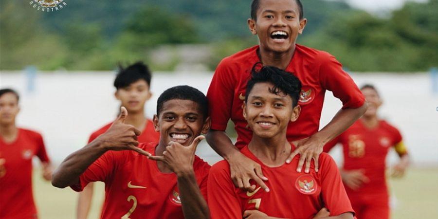 Kandaskan Vietnam, Timnas U-15 Indonesia Rebut Peringkat Ketiga Piala AFF U-15 2019