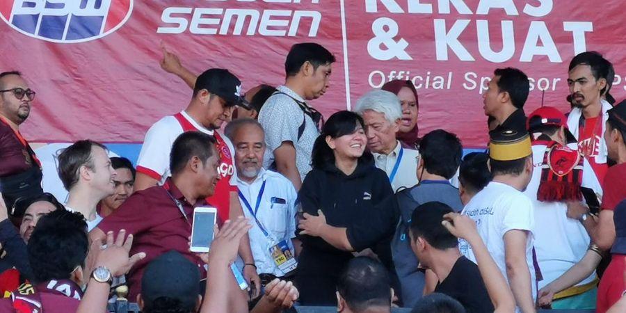Kata Ratu Tisha Usai PSM Juara Piala Indonesia dan Terima Kasih untuk Suporter