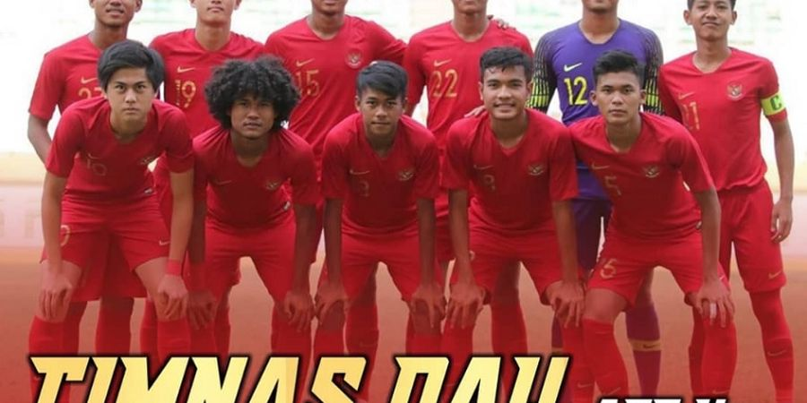 Link Live Streaming Timnas U-18 Indonesia Vs Timor Leste