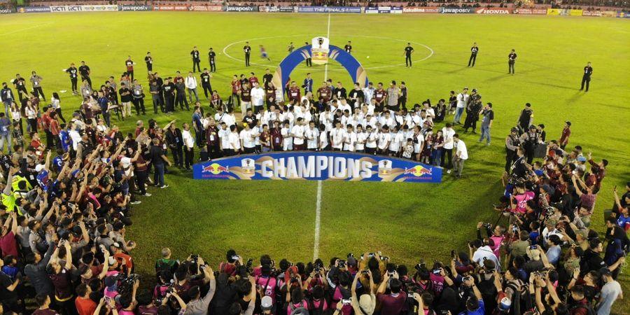 Selain Juara, PSM Juga Borong Penghargaan Individu di Piala Indonesia 2018
