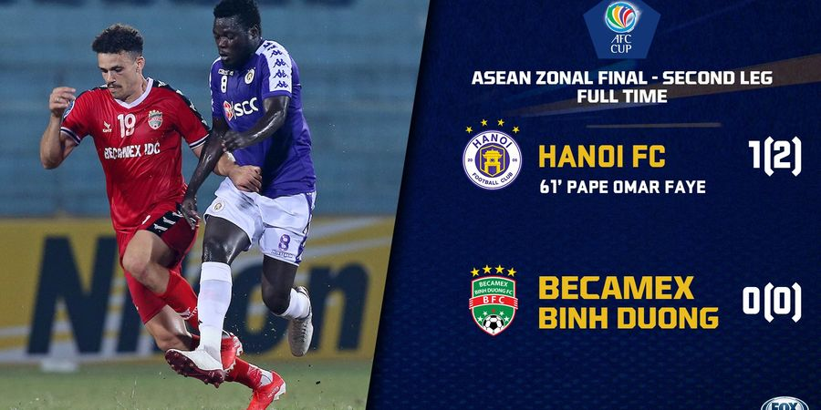 Hasil Final Piala AFC 2019, Hanoi FC Kalahkan Penakluk Persija