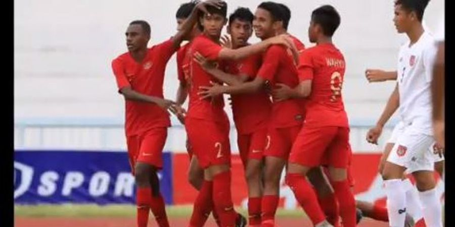 Link Live Streaming Timnas U-15 Indonesia Vs Vietnam di Piala AFF