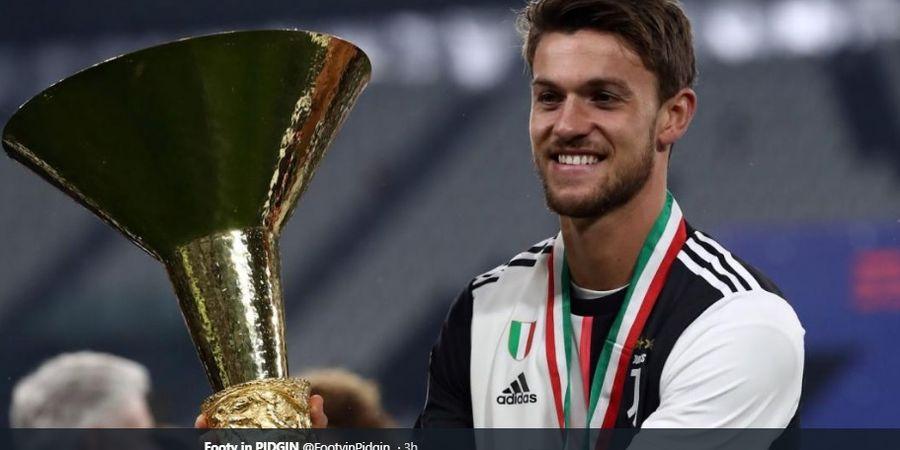 Positif Virus Corona, Bek Juventus Daniele Rugani Melihat Keberuntungan di Baliknya