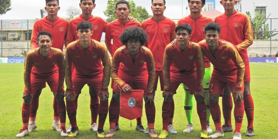 Link Live Streaming Timnas U-19 Indonesia Vs Timnas U-19 Iran