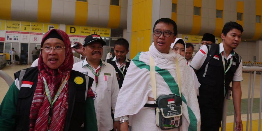 Antre 7 Tahun Pakai Haji Reguler, di Makkah Menpora Doakan Sepak Bola Indonesia jadi Macan Asia