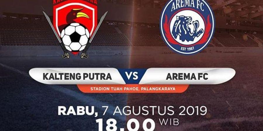 Link Live Streaming Kalteng Putra Vs Arema FC, Dua Pemain Penting Singo Edan Absen