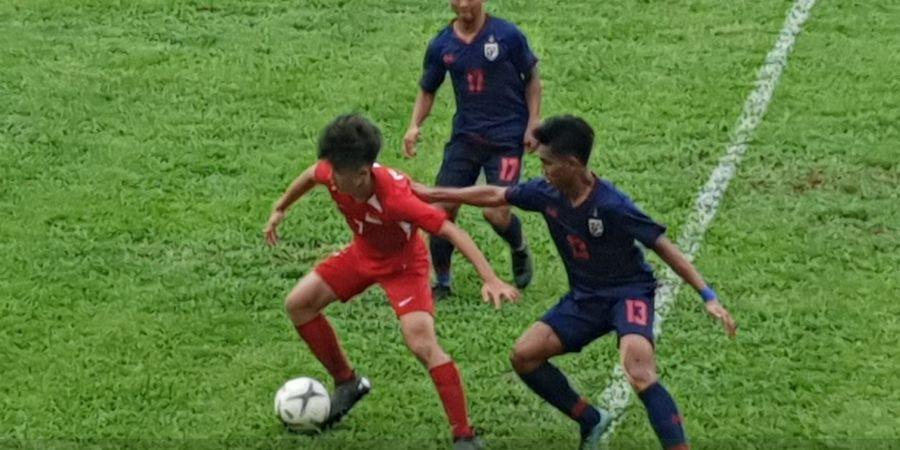Hasil Piala AFF U-18, Thailand Gagal Menang atas Singapura, Australia Pesta Gol