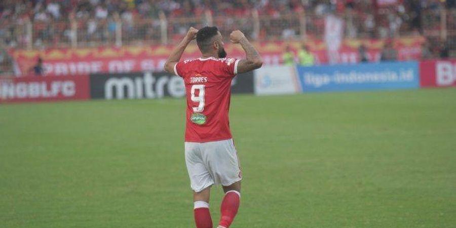 Hengkang dari Badak Lampung FC, Torres Resmi Gabung Barito Putera
