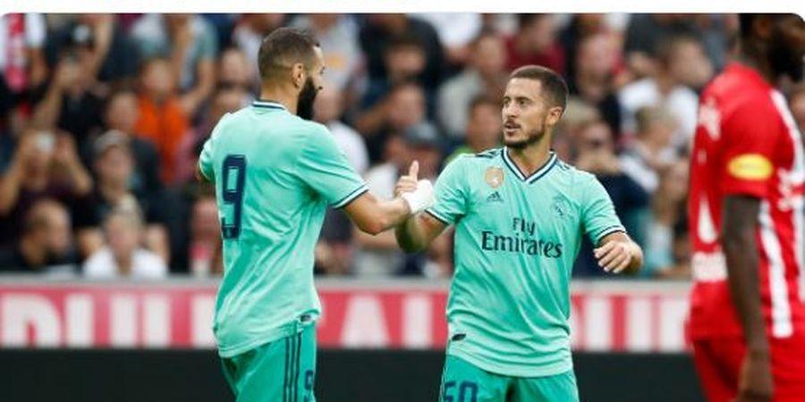 Hazard Jalani Debut, Kiper Real Madrid Justru Kesal dengan Performanya