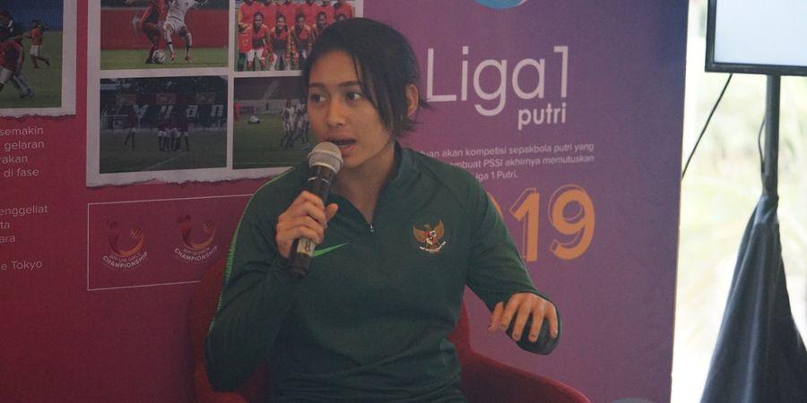 Sambut Liga 1 Wanita, Zahra Muzdalifah Tak Harus Main di Persija