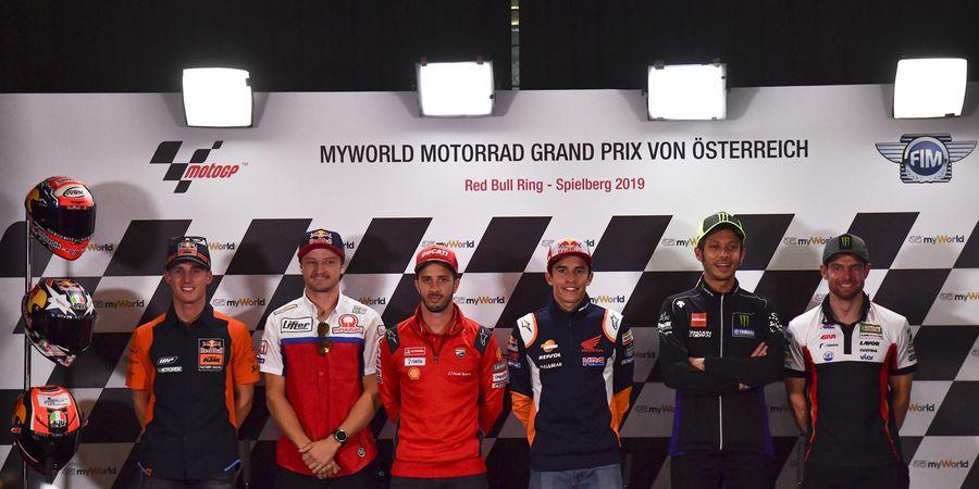 Jadwal MotoGP Austria 2019 dan Klasemen Pembalap , Mulai Pukul 14.55 WIB