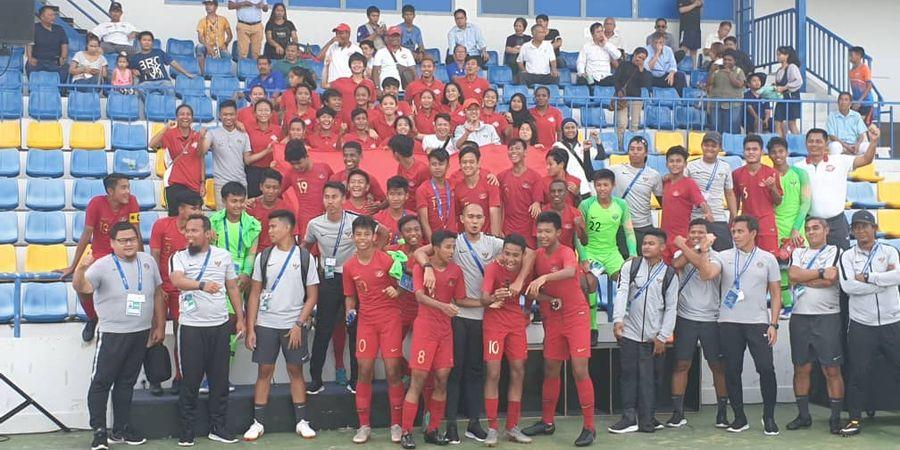 Timnas U-15 Indonesia Diminta Tak Terbuai dengan Pujian di Media Sosial