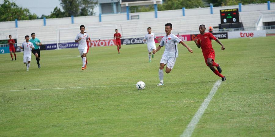 Kiper Timnas U-15 Indonesia Bicara Kegemilangannya di Adu Penalti