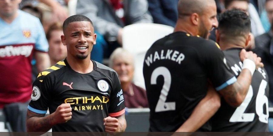 Hasil Babak I West Ham Vs Man City - Pemilik Nomor 9 yang Baru Bawa Man City Unggul