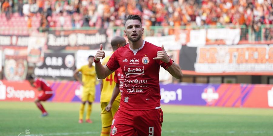 Persija Ungguli Madura United di Babak Pertama Berkat Marko Simic
