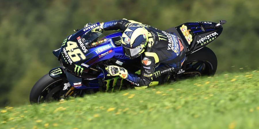 Valentino Rossi Sebut Trek Lurus Red Bull Ring Akan Sulitkan Yamaha
