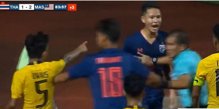 Kapten Malaysia Ungkap Alasan Pukul Pemain Thailand di Final Piala AFF U-15