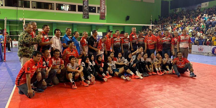 Tim Voli Putri DKI Jakarta Juarai Pra-PON 2020